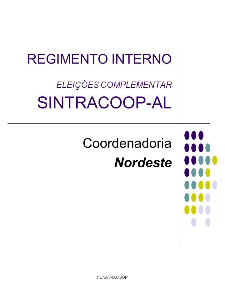 FENATRACOOP Ata de Apuração (modelo) Ata de Local de Apuração Aos............., dias de............, de 2010, com a Presença do Presidente da Fenatracoop, Senhor Mauri Viana Pereira e do Presidente do Sintracoop-Al o Senhor Itenir Pedro dos Santos, do fiscal da Fenatracoop o Senhor....................................................................................., e do Fiscal do Sescoop o Senhor(a)........................................................................................., todos, abaixo firmado, com a concordância do Coordenador Nordeste o Senhor Pedro Antonio Pinto, que conferiu e deu lizura ao pleito, após a contagem do número total de eleitores de..................Trabalhadores Registrado nas cooperativas, num total de.............
