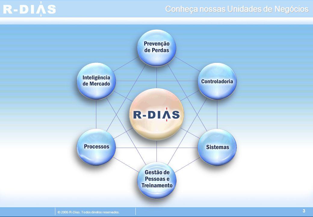 © 2005 R-Dias. Todos direitos reservados. Conheça nossas Unidades de Negócios 3