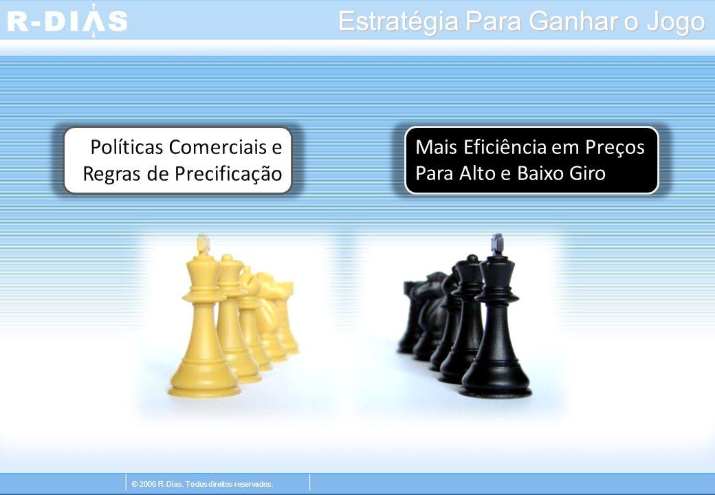 © 2005 R-Dias. Todos direitos reservados. Estratégia Para Ganhar o Jogo Mais Eficiência em Preços Para Alto e Baixo Giro