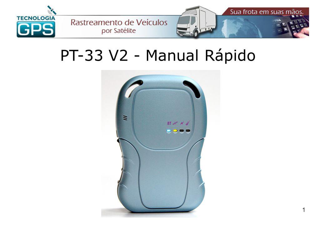 12 Comandos SMS A alteração de diversos parâmetros de configuração do aparelho bem como a requisição de posições podem ser feitas através de mensagens SMS(torpedos) enviados de um celular para o aparelho.