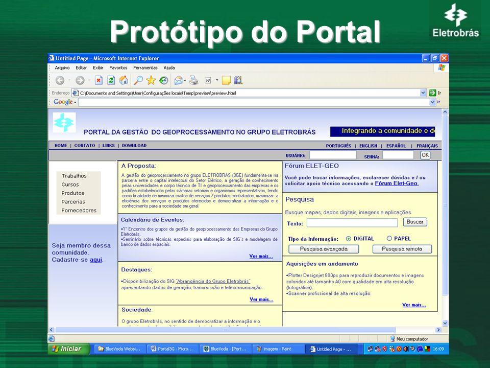 Protótipo do Portal