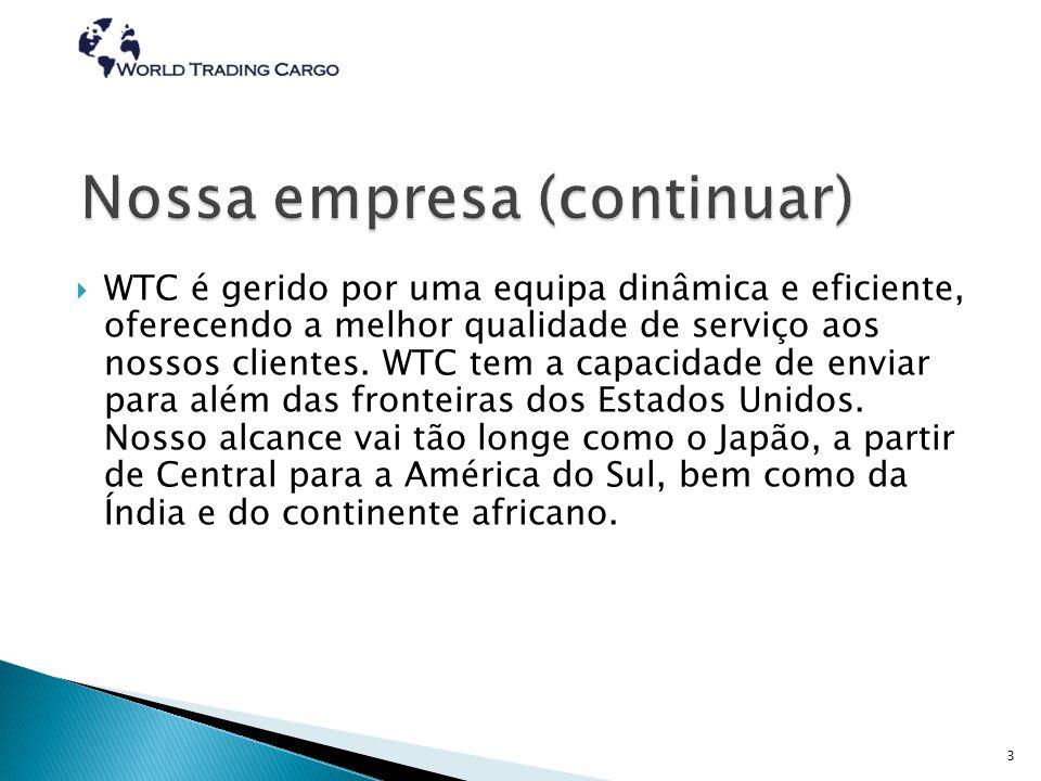  World Trading Cargo foi fundada como um ponto de hub alternativa para o transporte internacional.