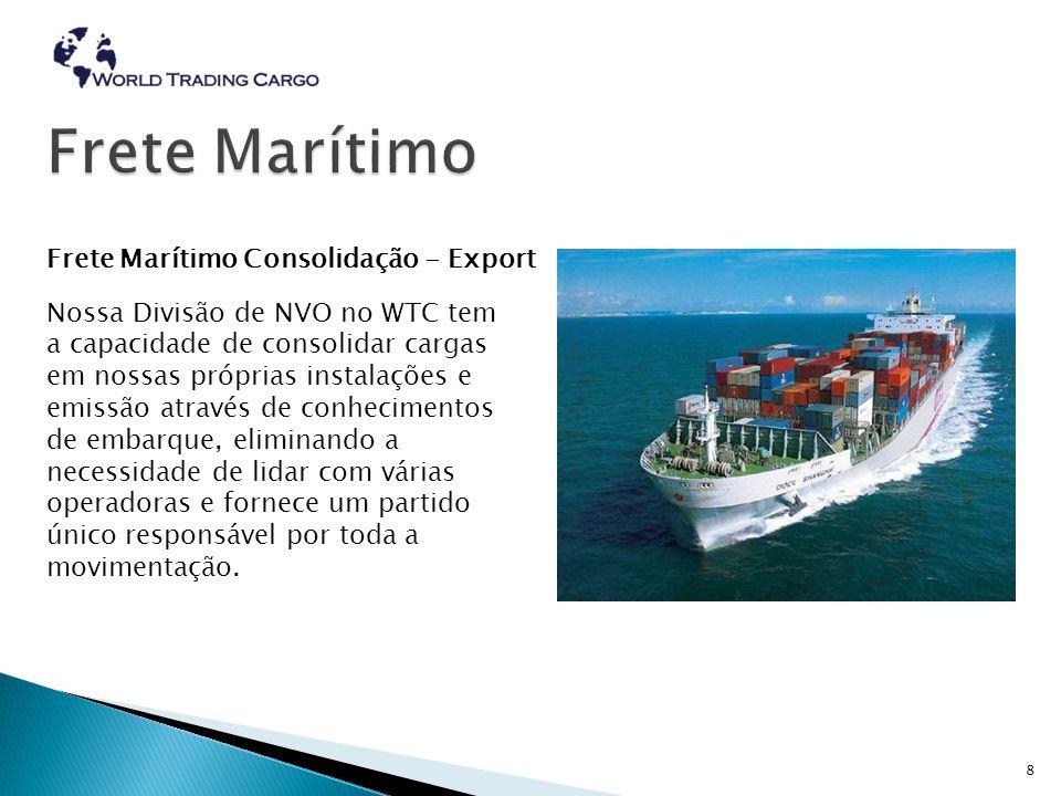  Flexibilidade e agilidade com os serviços aduaneiros fazer World Trading Cargo a opção certa para confiar em seus sets freight.This desafio, renovados a cada dia, firmar o sucesso do WTC.