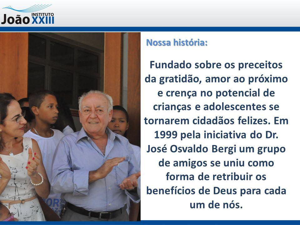 Contatos: Telefone (27) 3315-1685 Site: www.joaoxxiii.org.brwww.joaoxxiii.org.br Facebook: http://www.facebook.com/Instituto-João-XXIII