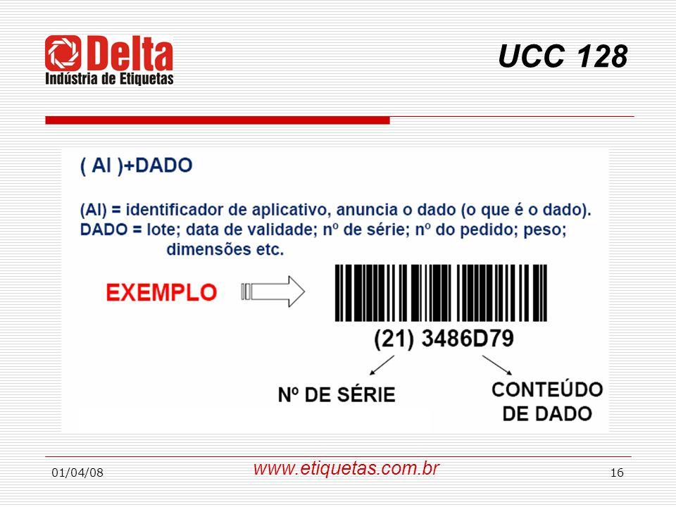 01/04/0816 UCC 128 www.etiquetas.com.br