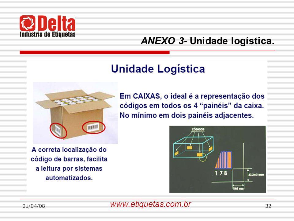 01/04/0832 www.etiquetas.com.br ANEXO 3- Unidade logística.