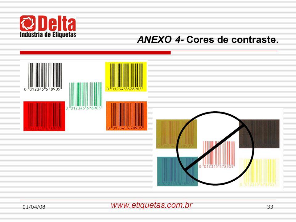 01/04/0833 www.etiquetas.com.br ANEXO 4- Cores de contraste.