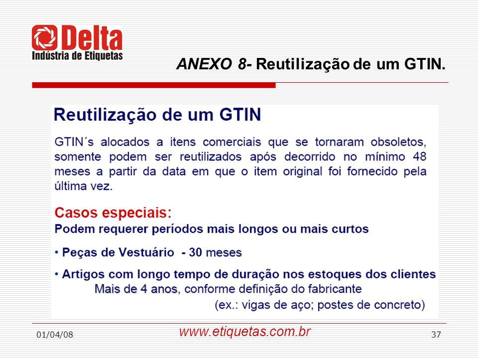 01/04/0837 www.etiquetas.com.br ANEXO 8- Reutilização de um GTIN.