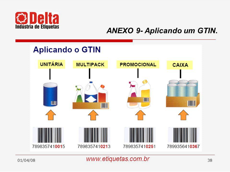 01/04/0838 www.etiquetas.com.br ANEXO 9- Aplicando um GTIN.