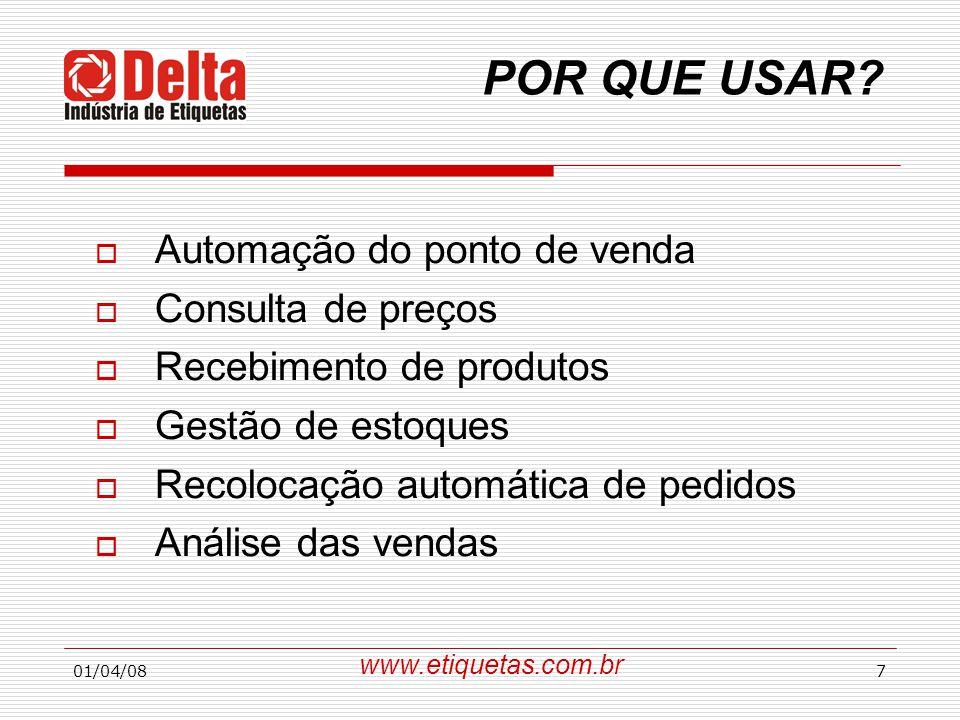 01/04/0828  GS1 BRASIL (Antiga EAN Brasil) Alameda Santos, 2.4441 – 9º andar CEP: 01415-002 – Sâo Paulo – SP T.