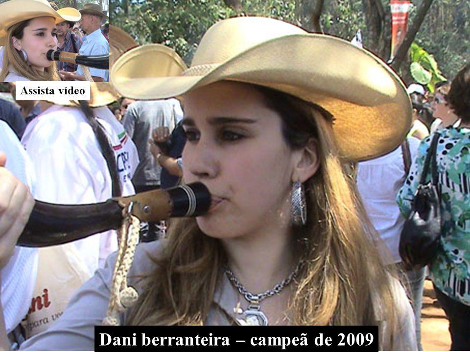 Assista vídeo Dani berranteira – campeã de 2009