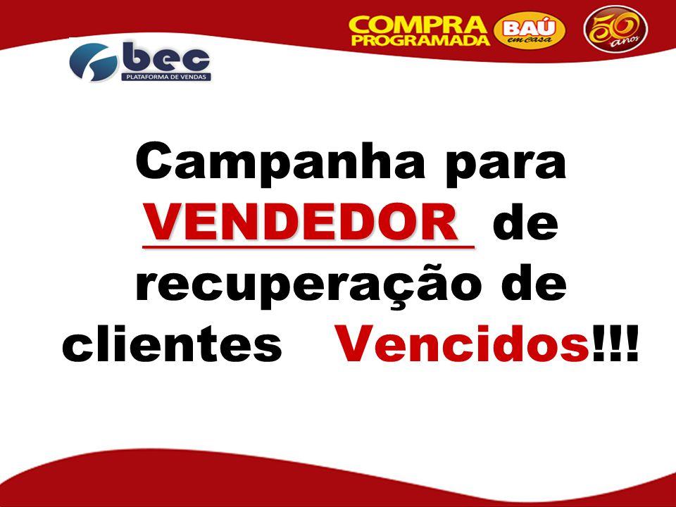 R$ 20,00 SEM SORTEIO O Vendedor ganha R$ 20,00 SEM SORTEIO por cada cliente que pagar a SEGUNDA e TERCEIRA PARCELAS VENCIDAS do contrato.