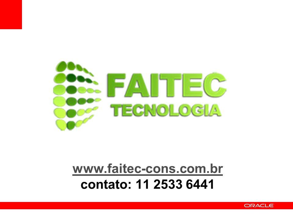 www.faitec-cons.com.br www.faitec-cons.com.br contato: 11 2533 6441