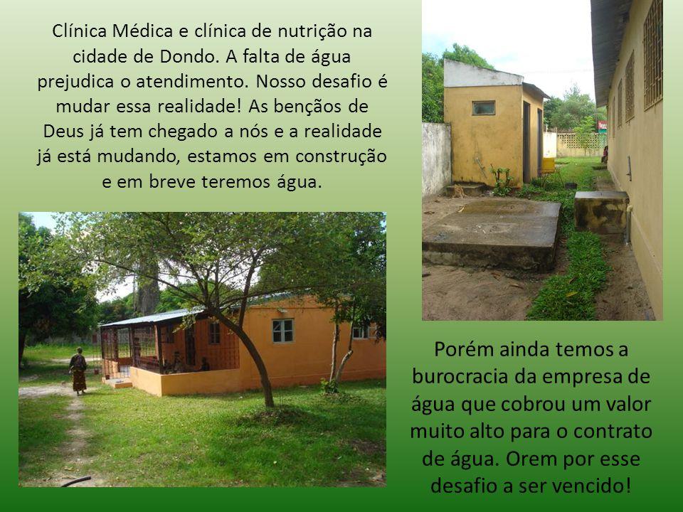 Clínica Médica e clínica de nutrição na cidade de Dondo.