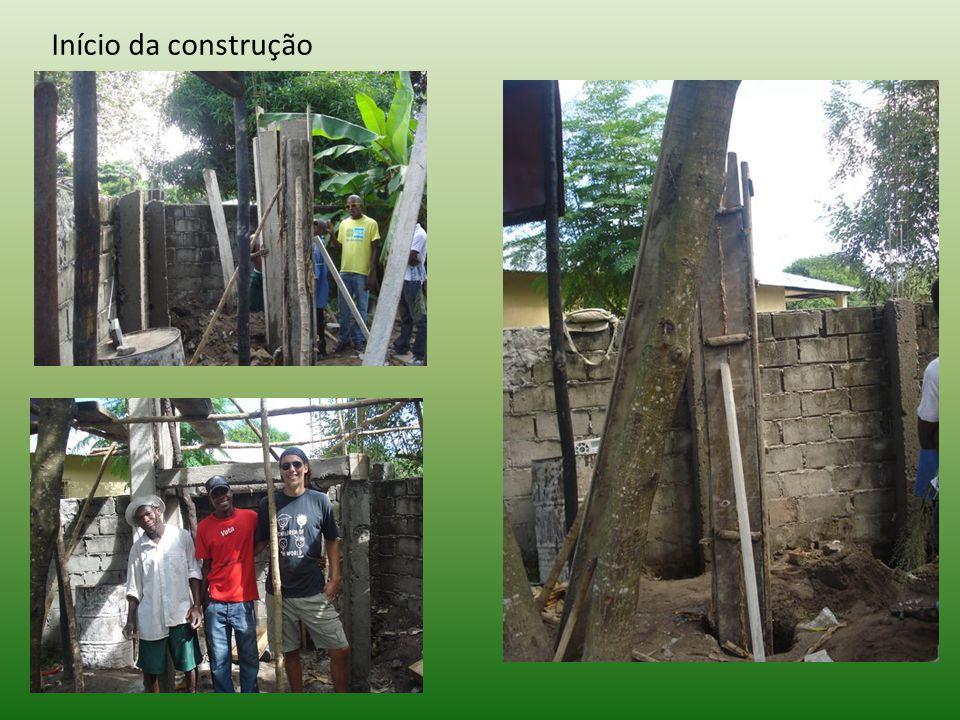 Início da construção