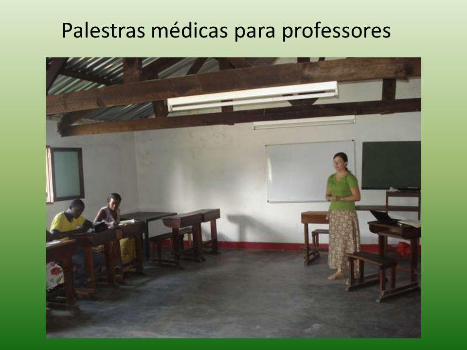 Palestras médicas para professores