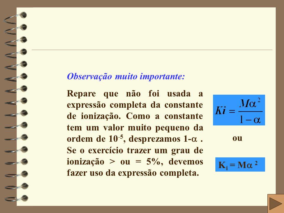 9- (Salvador-Usberco) Uma solução aquosa de cloreto de amônio 0,2M apresenta grau de hidrólise igual a 0,5%.
