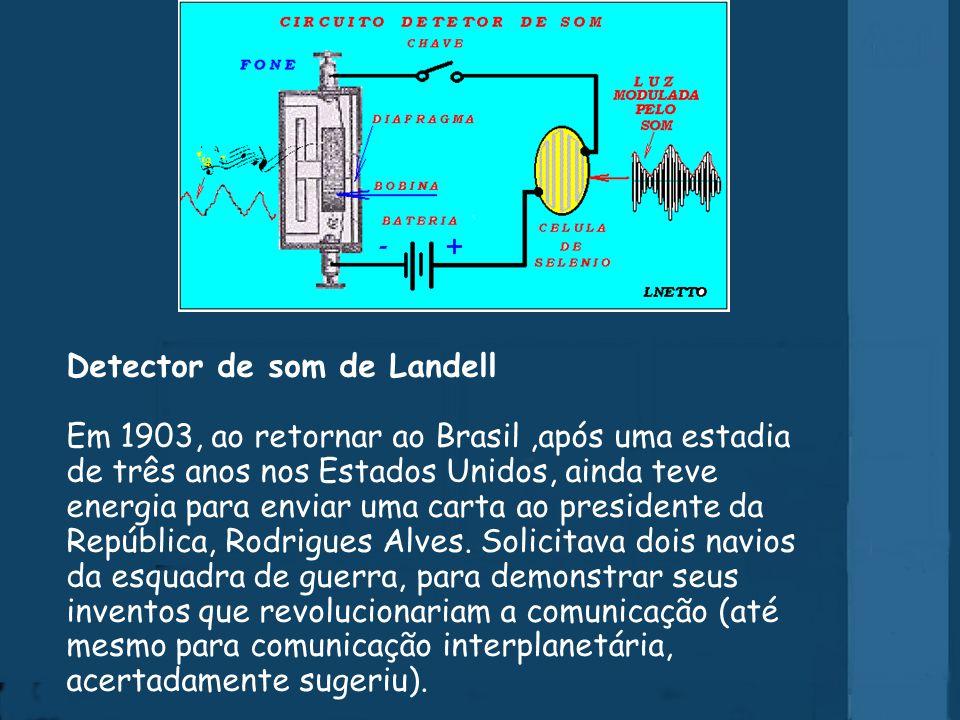 Réplica do 1º radiotransmissor do mundo Estava em Campinas quando, numa tarde, ao retornar da visita a um doente, encontrou a porta da casa paroquial arrombada, o laboratório e instrumentos completamente destruídos.