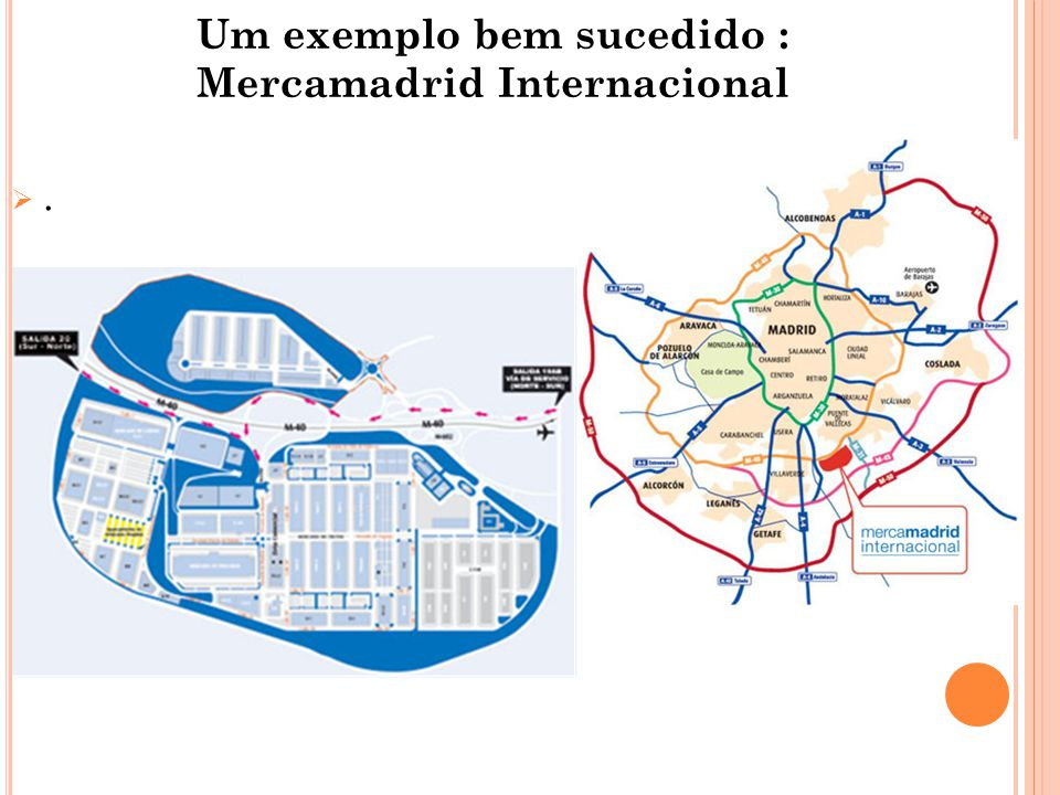 Um exemplo bem sucedido : Mercamadrid Internacional ..