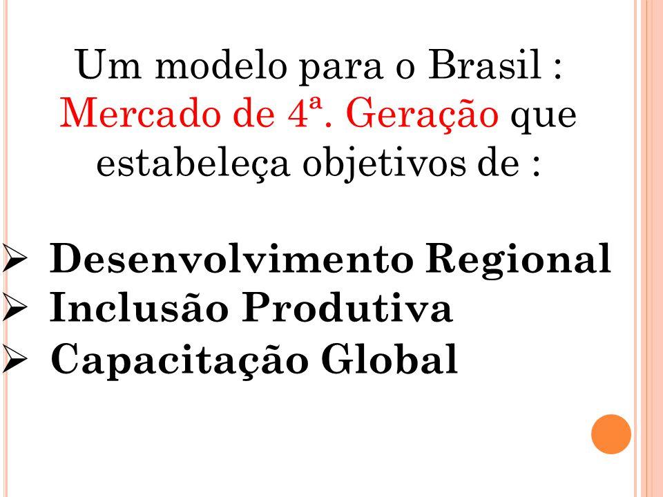 Um modelo para o Brasil : Mercado de 4ª.