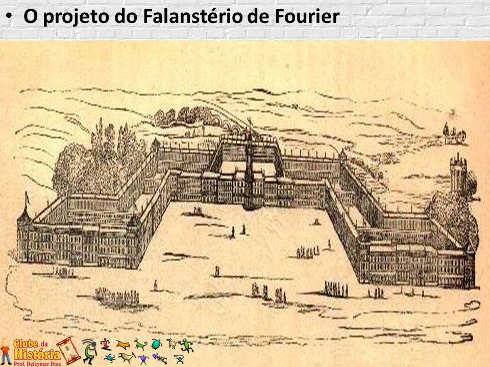 O projeto do Falanstério de Fourier