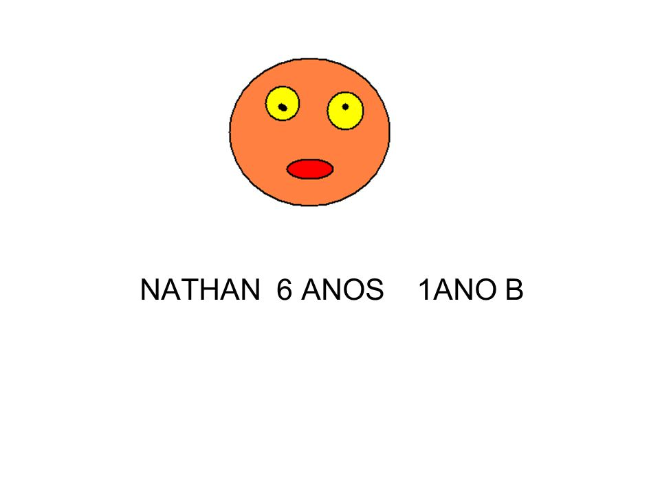 NATHAN 6 ANOS 1ANO B