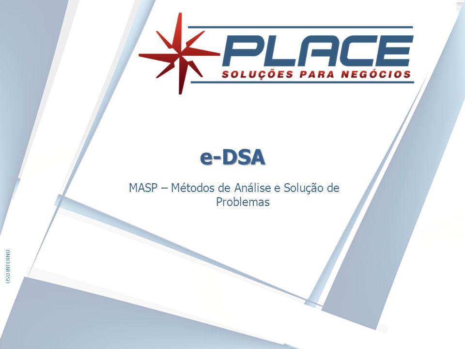 USO INTERNO e-DSA MASP – Métodos de Análise e Solução de Problemas