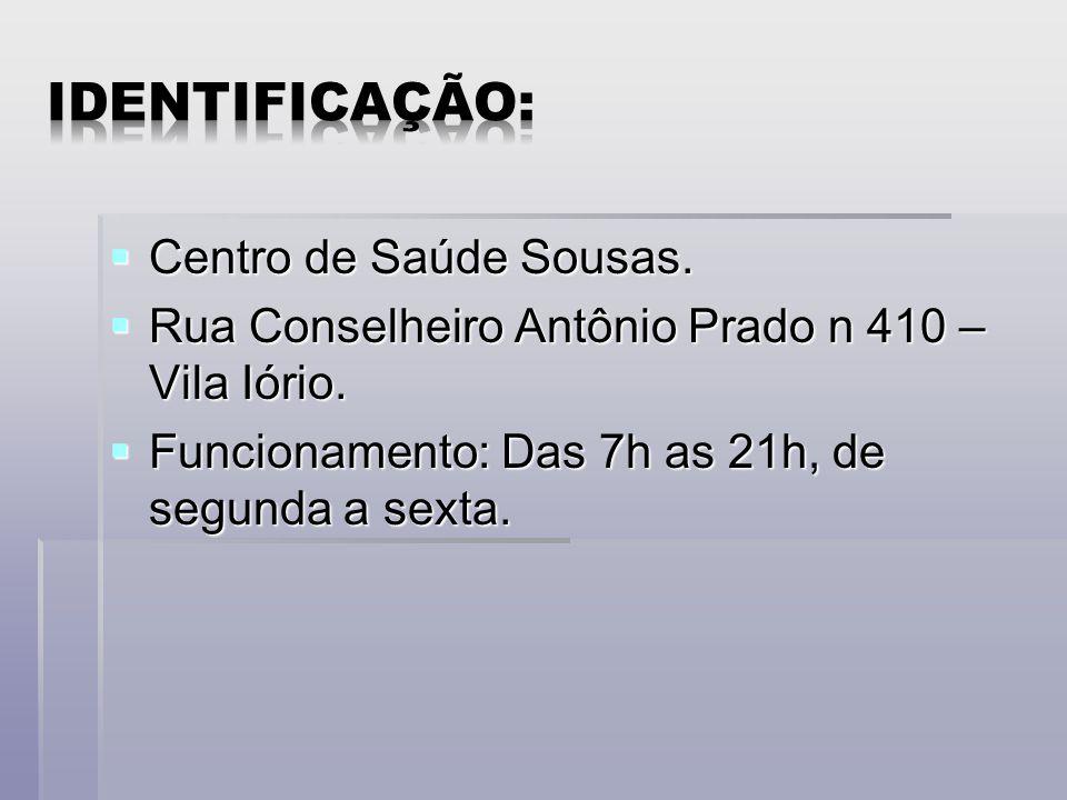  O CS Sousas pertence ao distrito Leste.