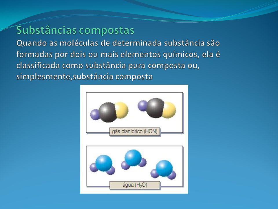 Qualquer substância pura ou mistura a ser estudada é denominada de sistema.