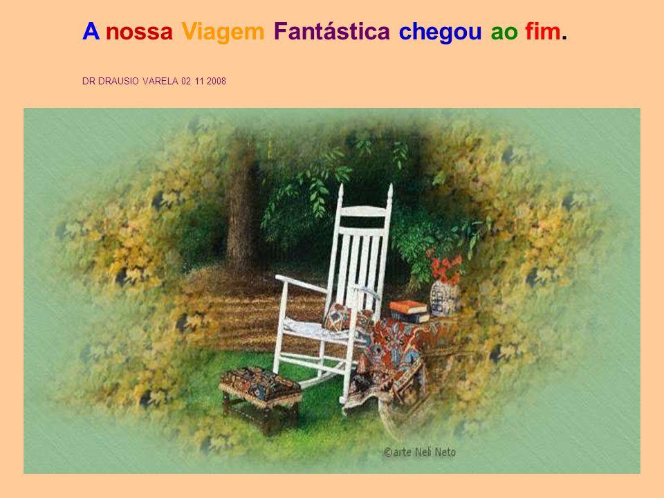 A nossa Viagem Fantástica chegou ao fim. DR DRAUSIO VARELA 02 11 2008