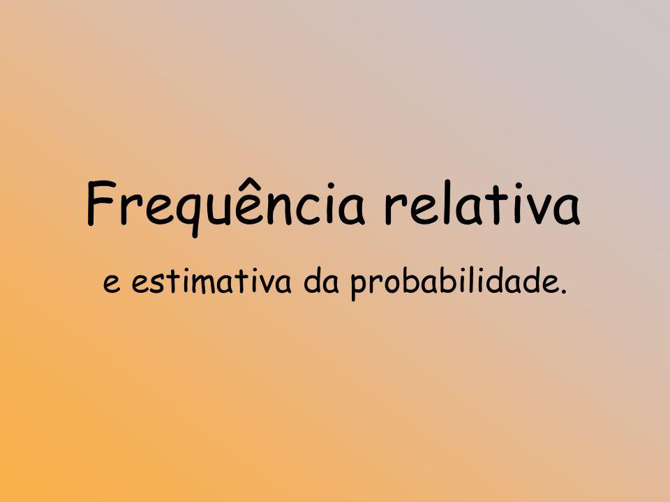 Probabilidades9º Ano Cálculo de Probabilidades EntradaPratoSobremesaRefeição S C A B L A B L F P F P F P F P F P F P ( S,A,F ) ( S,A,P ) ( S,B,F ) ( S,B,P ) ( S,L,P ) ( S,L,F ) ( C,A,F ) ( C,A,P ) ( C,B,F ) ( C,B,P ) ( C,L,F ) ( C,L,P ) Escolhida uma refeição ao acaso qual é a probabilidade de comer bife ou fruta?