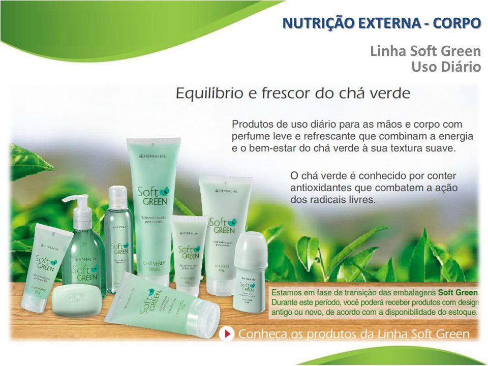 NUTRIÇÃO EXTERNA - CORPO Linha Soft Green Uso Diário