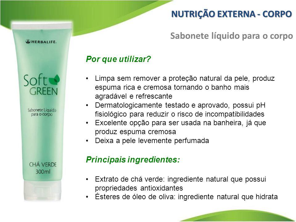 Por que utilizar? Limpa sem remover a proteção natural da pele, produz espuma rica e cremosa tornando o banho mais agradável e refrescante Dermatologi