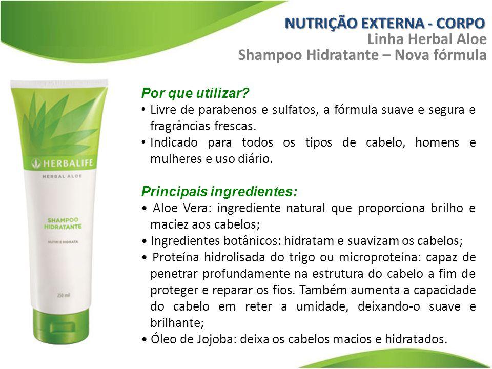 Por que utilizar.Livre de parabenos e sulfatos, a fórmula suave e segura e fragrâncias frescas.