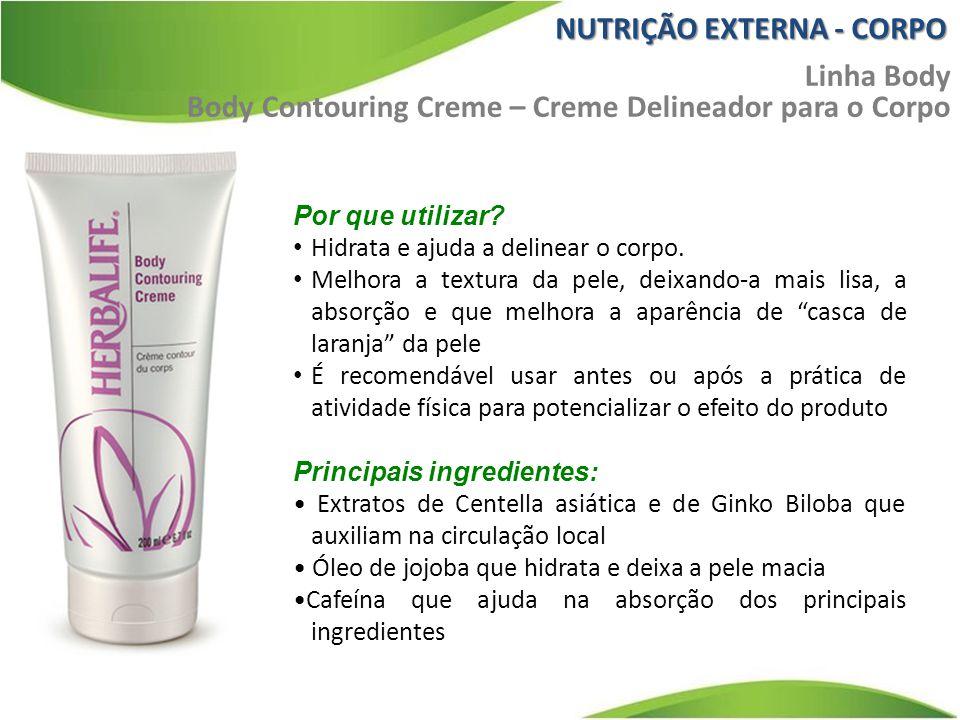 """Por que utilizar? Hidrata e ajuda a delinear o corpo. Melhora a textura da pele, deixando-a mais lisa, a absorção e que melhora a aparência de """"casca"""