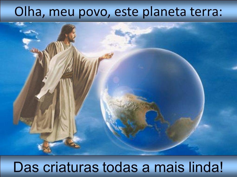 Nossa mãe terra, Senhor, Geme de dor noite e dia,