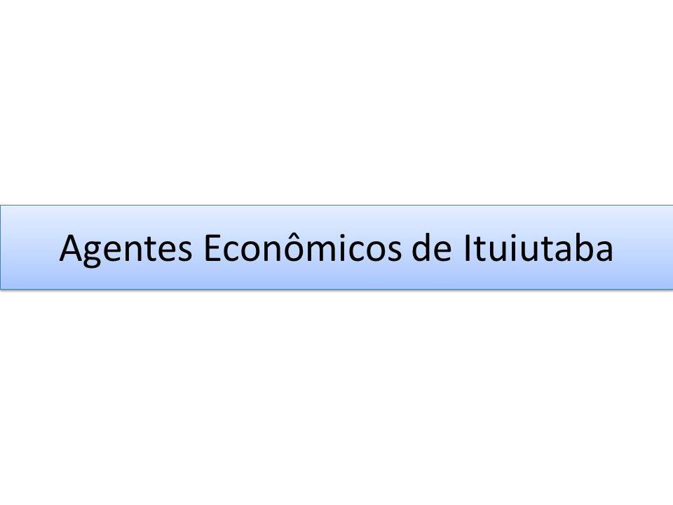 Agentes Econômicos de Ituiutaba