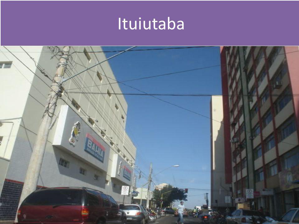 Comparação Ituiutaba/Araguari - Ano 2012 ITUIUTABAARAGUARI LavouraÁrea plantada haRendimento q/há.