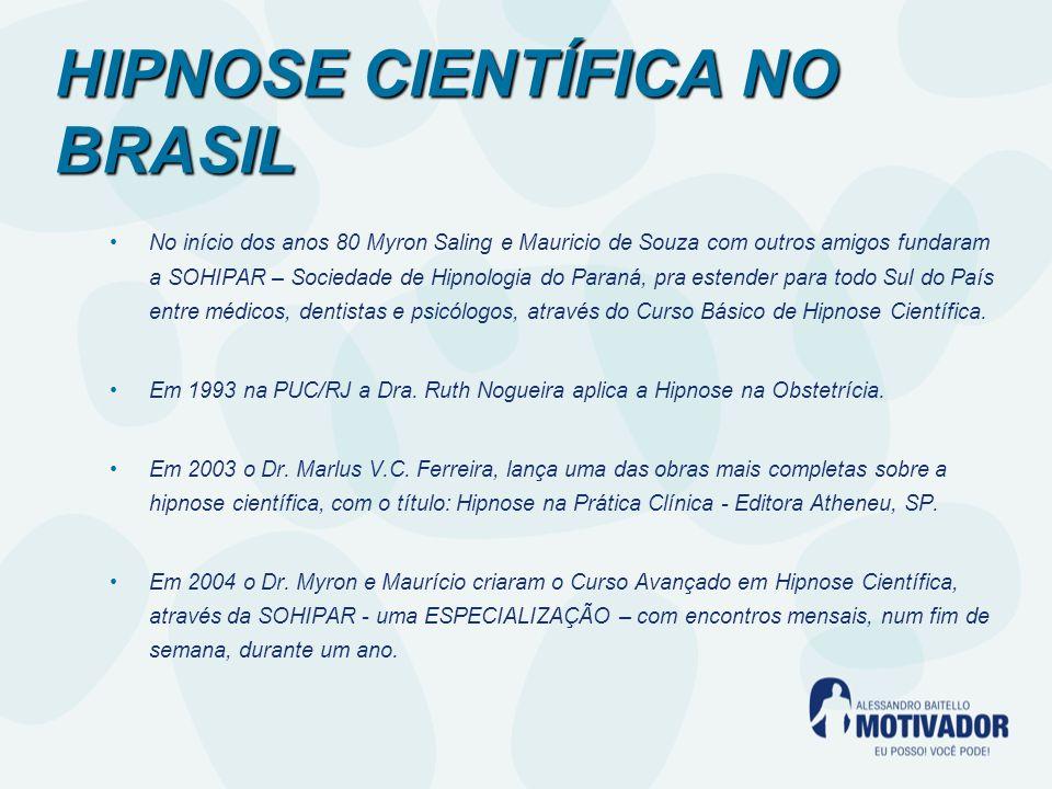 No início dos anos 80 Myron Saling e Mauricio de Souza com outros amigos fundaram a SOHIPAR – Sociedade de Hipnologia do Paraná, pra estender para todo Sul do País entre médicos, dentistas e psicólogos, através do Curso Básico de Hipnose Científica.