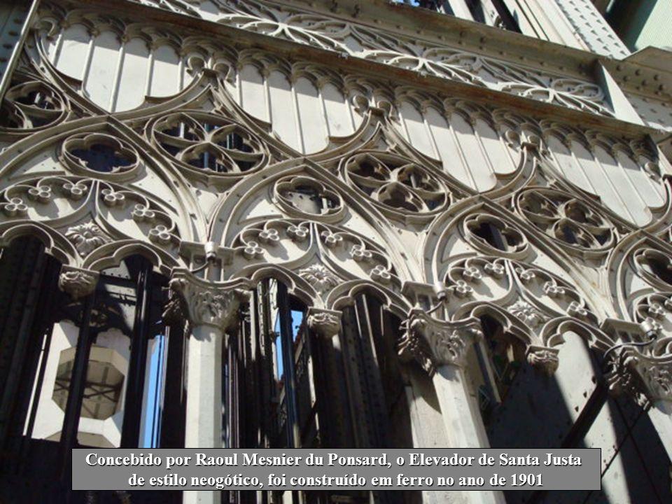 Os graciosos arcos do Convento do Carmo erguem-se como recordação do terramoto de 1755 que destruiu grande parte da cidade de Lisboa