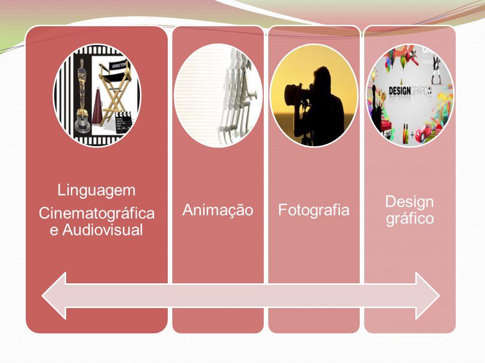 Linguagem Cinematográfica e Audiovisual AnimaçãoFotografia Design gráfico