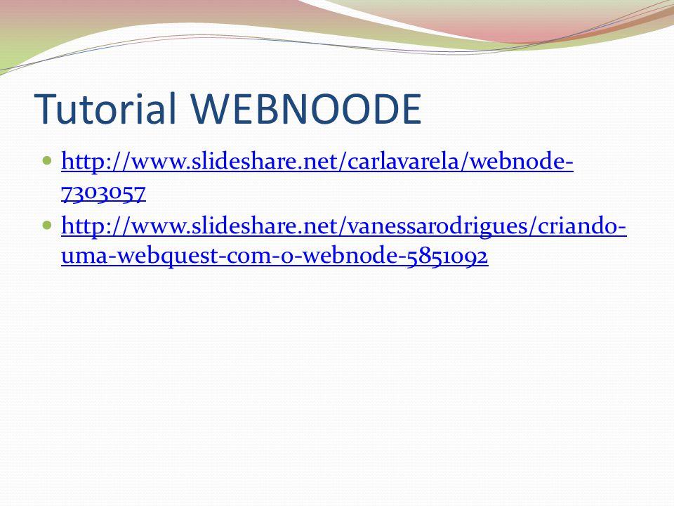 Tutorial WEBNOODE http://www.slideshare.net/carlavarela/webnode- 7303057 http://www.slideshare.net/carlavarela/webnode- 7303057 http://www.slideshare.