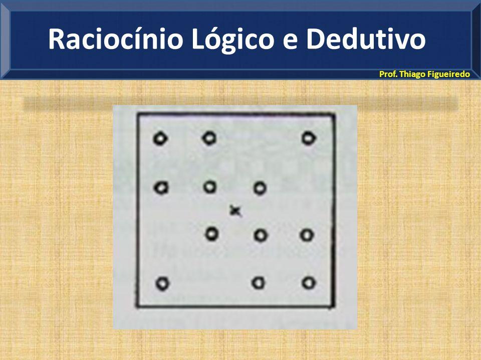 Prof. Thiago Figueiredo Raciocínio Lógico e Dedutivo