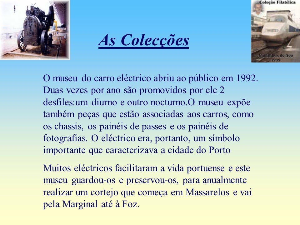 O museu do carro eléctrico encontra-se sinalizado a partir da rua do campo alegre.