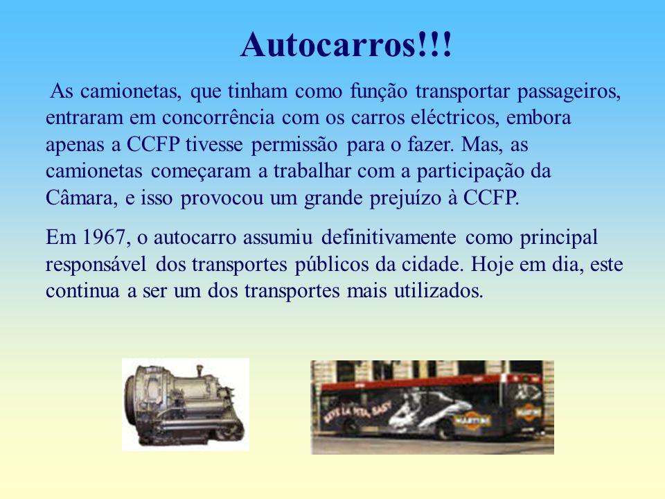 O museu do carro eléctrico abriu ao público em 1992.