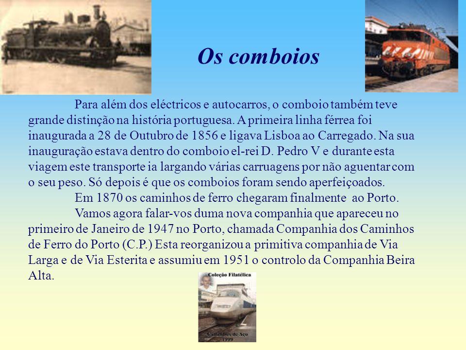 As camionetas, que tinham como função transportar passageiros, entraram em concorrência com os carros eléctricos, embora apenas a CCFP tivesse permissão para o fazer.