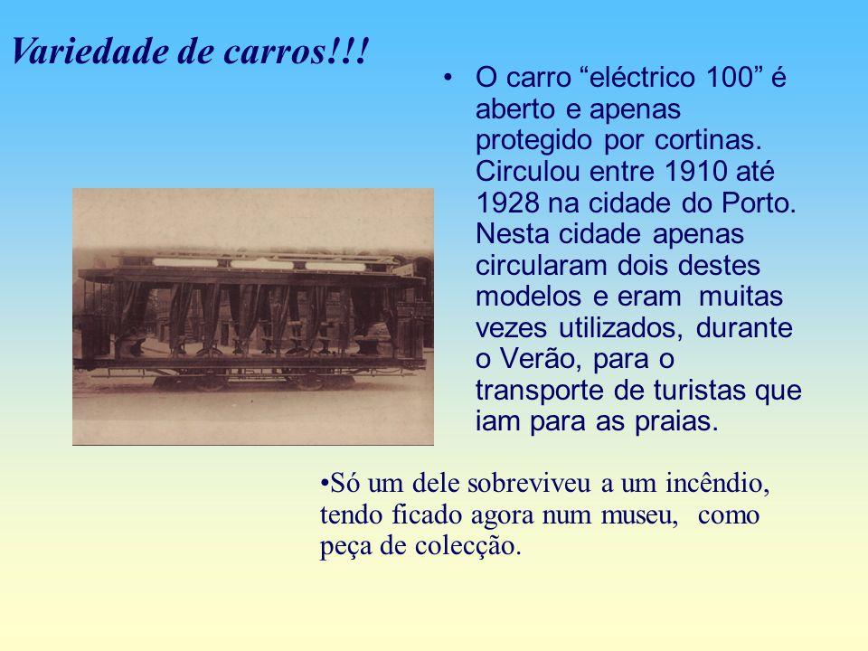 Fizeram-se em 1877, na linha da Foz, as primeiras experiências com uma locomotiva, que foi enviada directamente da Alemanha, da casa Henschei & Sohn de Cassel uma locomotiva para tramway.