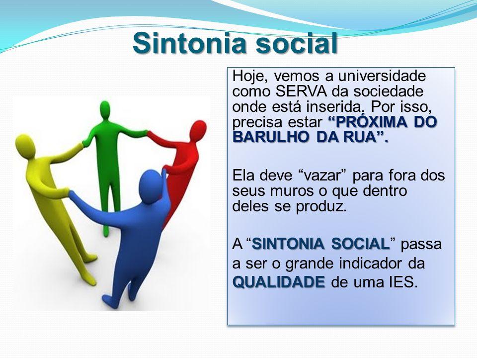 Sintonia social PRÓXIMA DO BARULHO DA RUA .