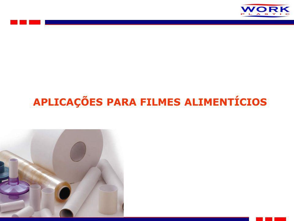 APLICAÇÕES PARA FILMES ALIMENTÍCIOS