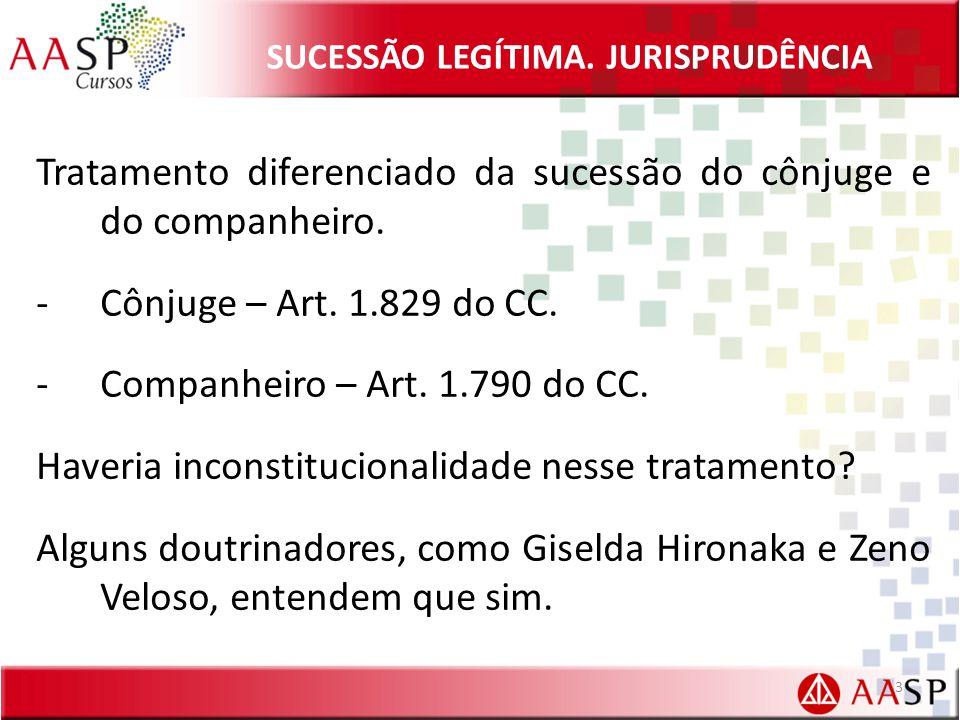 SUCESSÃO LEGÍTIMA.JURISPRUDÊNCIA Lei 9.278/1996. Art.